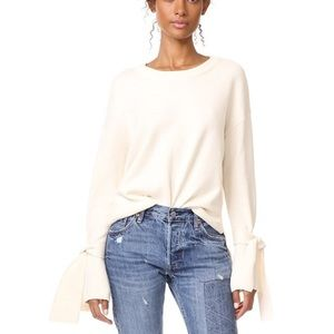 ✨ Madewell Tie Cuff Pullover ✨
